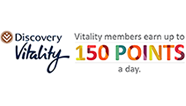 150 Vitality Points Per Workout
