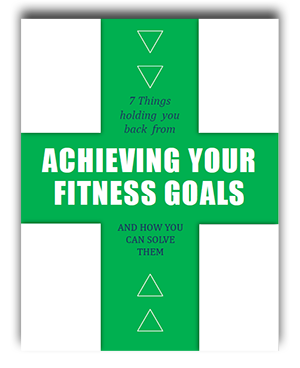 E-Book mock-up (Flat) 7 things holding you back to achieving your fitness goals