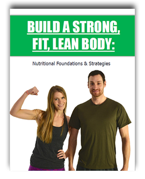 E-Book mock-up (Flat) Build a Strong, Fit Lean Body
